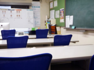 イーネットカレッジ室内の写真