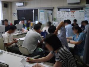 7月勉強会の様子の写真