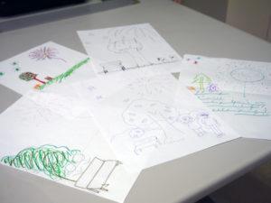 勉強会の作品の写真