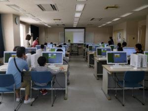 コードモンキー教室風景の写真