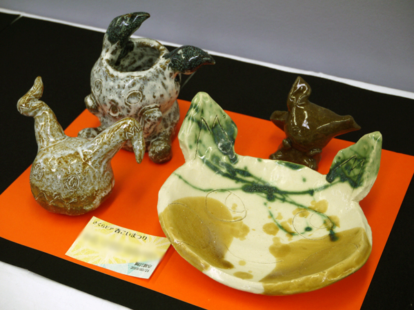 Iさんの陶芸作品の写真